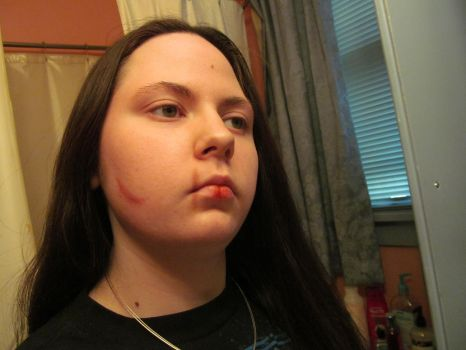 Make up Test 1.01 Scar and Cuts by CosplayerKate13