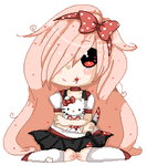Pixel Doll: Yuuko  //animated by KimmyPeaches