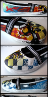 Seasonal shoes. by pichu4850