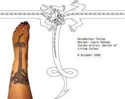 Ouroborous Tattoo by canvey
