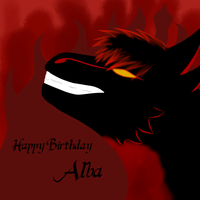 Happy Birthday Alba! by Kutanra