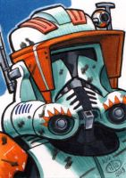 Commander Cody Sketch Card by Chad73