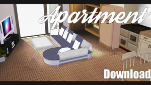 |MMD| Bedsitting Room Apartment Download by Dastezi