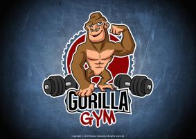 Mascot Logo for a gym by TrexycaArtworks