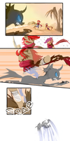 MLP FIM: Comic commission for kagekitsoon by hinoraito