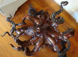 "Octopus bronze ""Cephalopod"" by bronze4u"