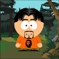 I am in South park by Bianor