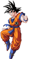 Goku. by BardockSonic