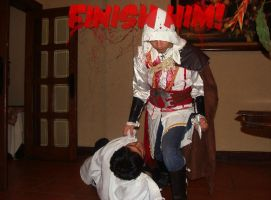 FinishHim MK Ezio vs Seraph by keught
