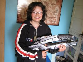 My N7 girl :D by Angua33