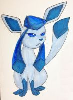 Eeveelution- Glaceon by MousieDoodles