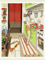 Kitchen by tinhan