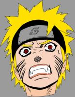 Angry Naruto by prowelix