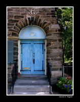 The Blue Door by David-A-Wagner