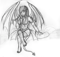 The Succubus Rises WIP by DragonRayne-kun
