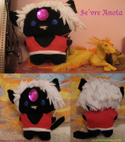 Se'vre -Gift- Plushie by Guiled-Dragon