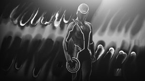 Tron 2 BW by dOseeN