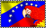 stamp Venezuela by daporta
