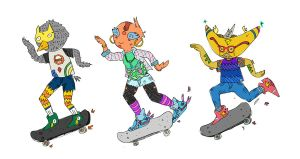 skate by slashelf