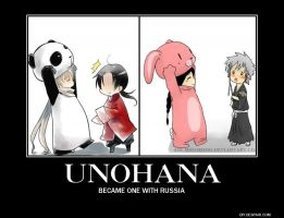 Demotivational Poster: Russia and Unohana by gaaradesert6
