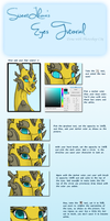 Eyes Tutorial by SweetLhuna