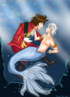 Pirate meet merman by VernCode