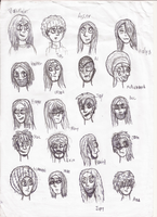 Heads n' Faces (step 1,5 of 3) by TheAuthorStudios