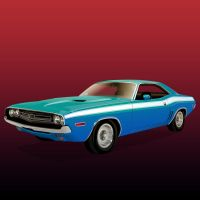 Dodge Challenger by Fresco24