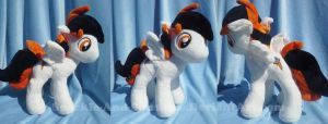 Lightning Dasher - Pony Plush - Commission by Sparkle-And-Sunshine