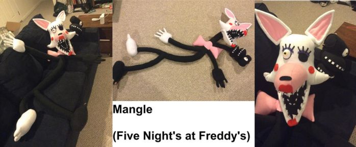 Five Night's at Freddy's Giant Mangle Plush by MJDIllusion