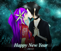 Happy New Year 2013 by kiri-rxRai