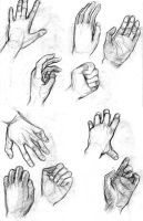 Hand Study by silentillusion