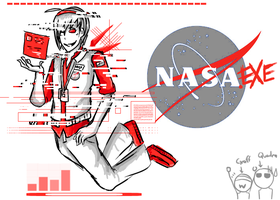 NASA.EXE First Appearance by UmmuVonNadia
