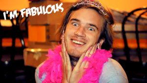PewDiePie is fabulous! by Nylah22
