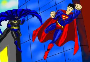 Worlds Finest-Classics by dhbraley