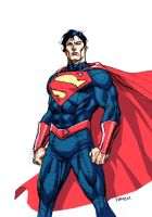 Superman by IbraimRoberson