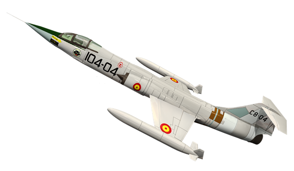 Fighter Jet 02 by Roy3D