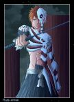 Bleach - ichigo hollow by Tice83
