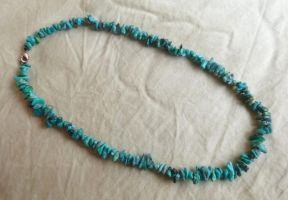 Turquoise Necklace by Lost-in-the-day