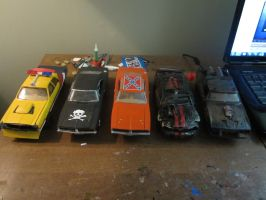 movie cars models by crashandcynder