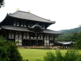Todaiji Temple by yapi