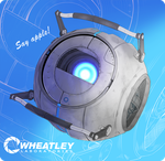 Wheatley by NPC-Dion