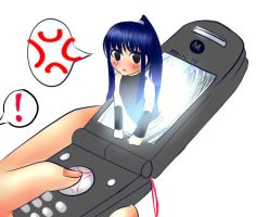 stop texting moyashi by water-panda-chan