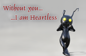 Without you I am Heartless by UnexpectedToy