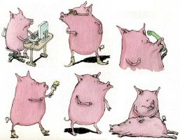 Pig day by MattiasA