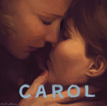 Carol Soundtrack Painting by Super-Cute