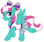 Sunlight Spring - Happy Trot - Transparent by SJArt117