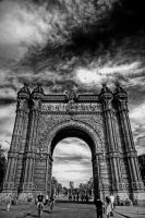 arc of Barcelona by KYAV