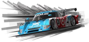 Target Telmex DP car by graphicwolf