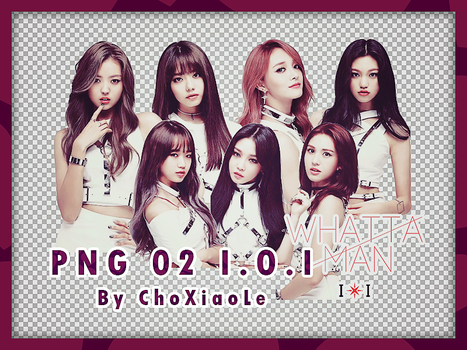 #2 Render png - I.O.I Whatta man IOI by ChoXiaoLe